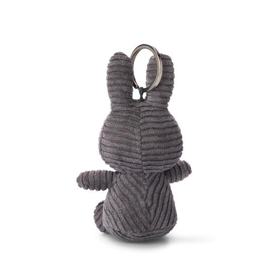 Miffy Keychain Corduroy Grey 10Cm