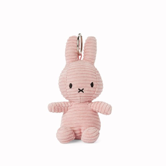 Miffy Keychain Corduroy Pink 10Cm