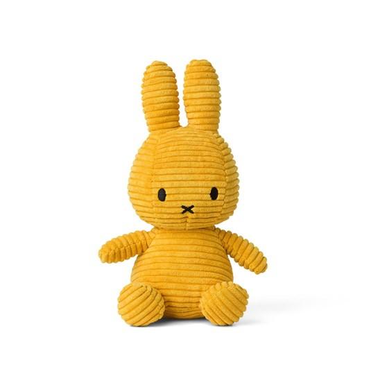 Miffy Sitting Corduroy Yellow 23Cm