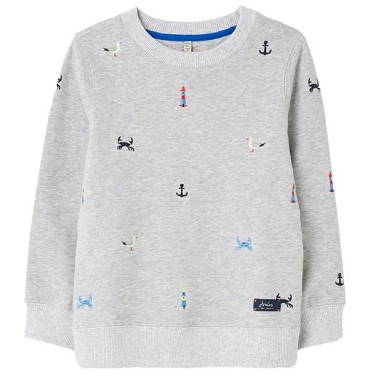 Joules Jonti Mini Me Embroidered Crew Neck Sweatshirt