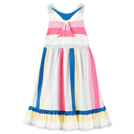 Joules Juno Tiered Jersey Dress