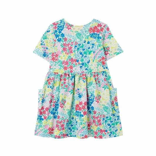 Joules Liddie Button Through Smock Dress