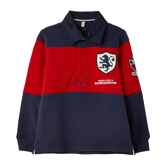 Joules Winner Embellished Rugby Shirt