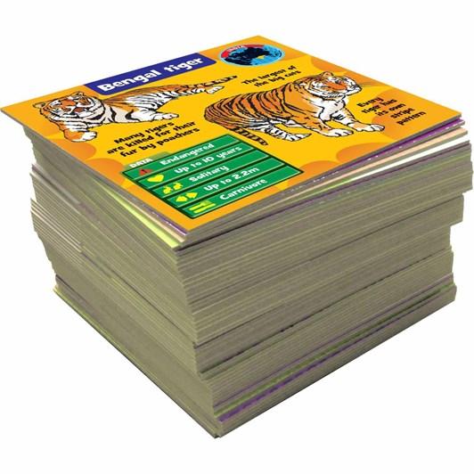 Brain Box Animals - 55 cards