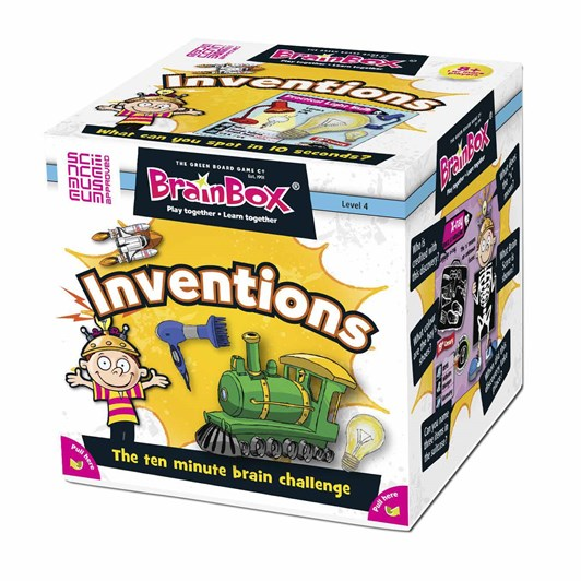 Brain Box Inventions - 55 cards