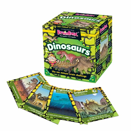 Brain Box Dinosaurs - 55 cards