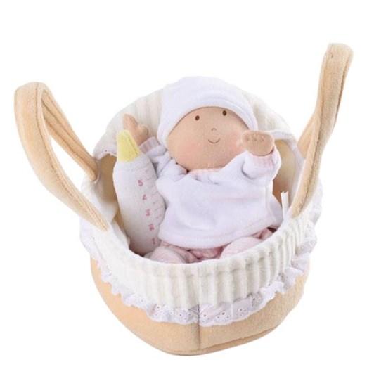 Bonikka Carry Cot With Baby Doll, Bottle & Blanket 23cm
