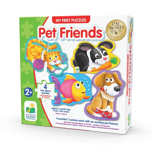 The Learning Journey My First Shaped Puzzles - Pets