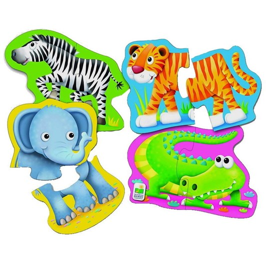The Learning Journey My First Shaped Puzzles - Safari Friends
