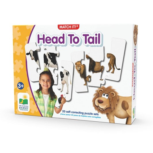 The Learning Journey Match It - Head To Tail