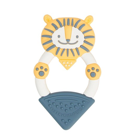 Cheeky Chompers Teether - Bertie the Lion Teether