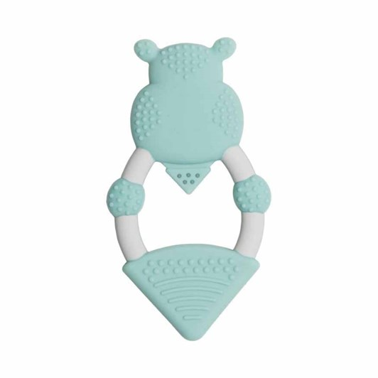 Cheeky Chompers Teether - Chewy the Hippo Teether