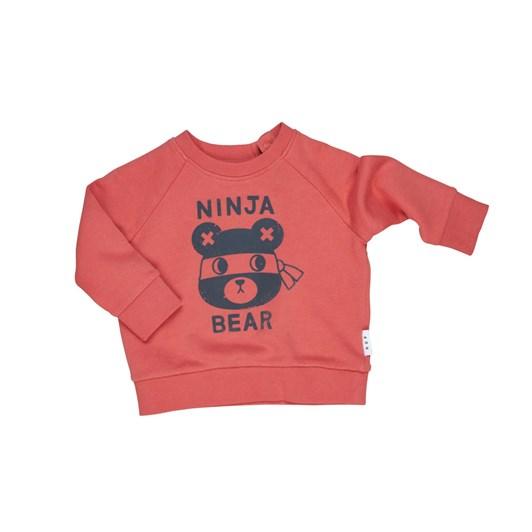 Huxbaby Ninja Bear Sweatshirt 3-5Y
