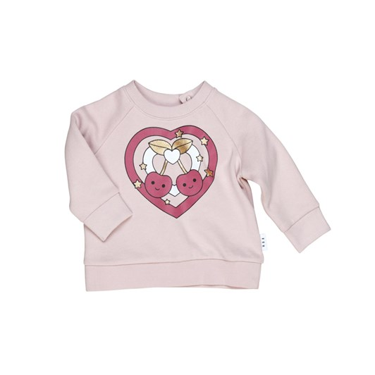Huxbaby Cherry Heart Sweatshirt 3-5Y