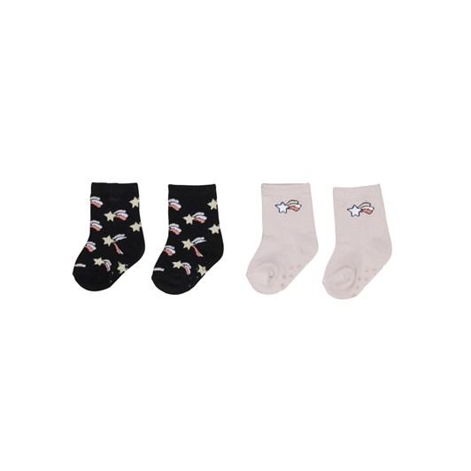 Huxbaby Rose/Starburst 2 Pack Socks 2-8Y