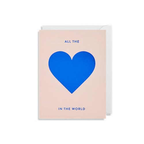 Oxted All The Love In the World Card