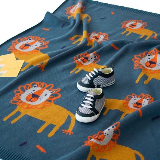 Indus Lerory Lion Blanket