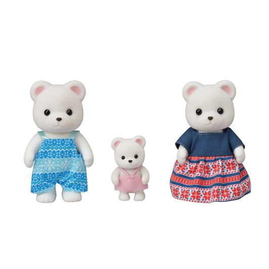 Sylvanian Families Polar Bear Family 3 Figures