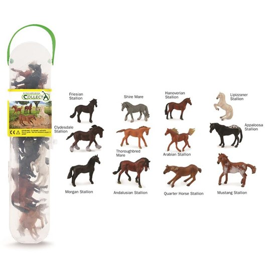 CollectA Box Of Mini Horses 12P