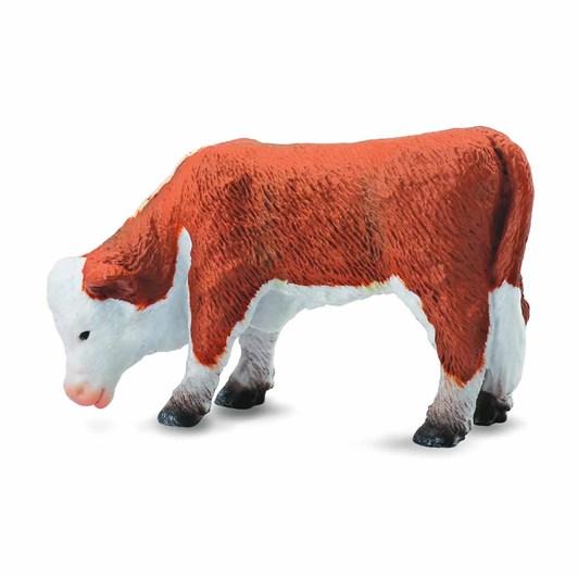 CollectA Hereford Calf Grazing Figurine