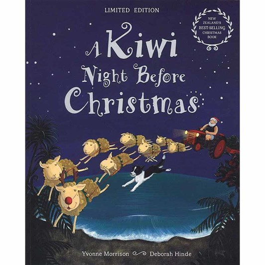MF Hunter Kiwi Night Before Christmas Book