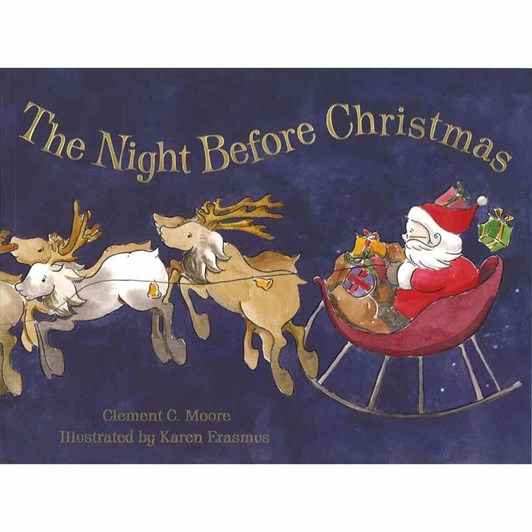 MF Hunter Night Before Christmas Paperback Book