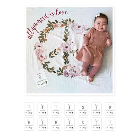 Lulujo Baby's First Year -  All You Need Is Love