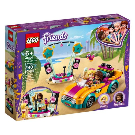 LEGO Friends Andrea's Car & Stage