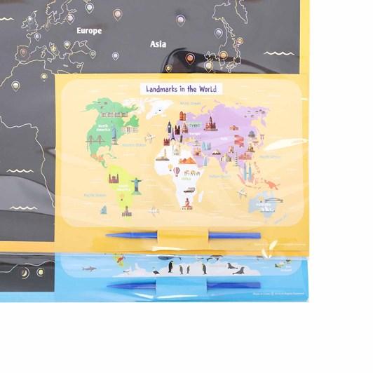 Splosh Colourful Kids DIY Animal Scratch Map