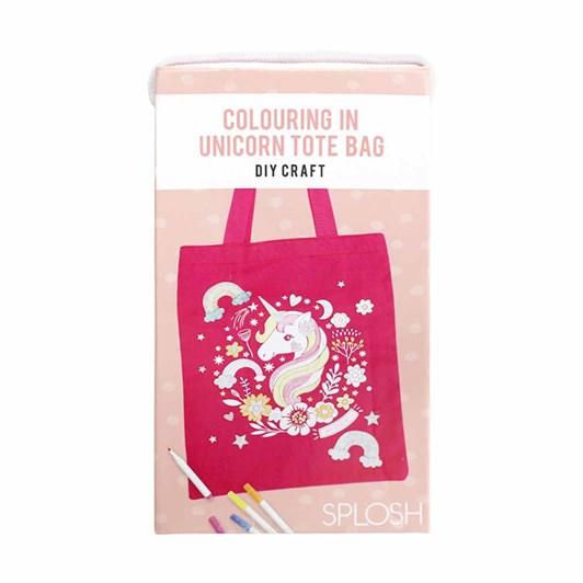 Splosh Colourful Kids DIY Unicorn Tote Bag