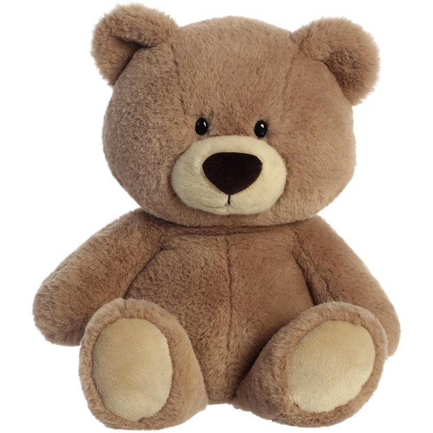 Antics Hugga-Wug Bear Taupe Sitting Medium - taupe