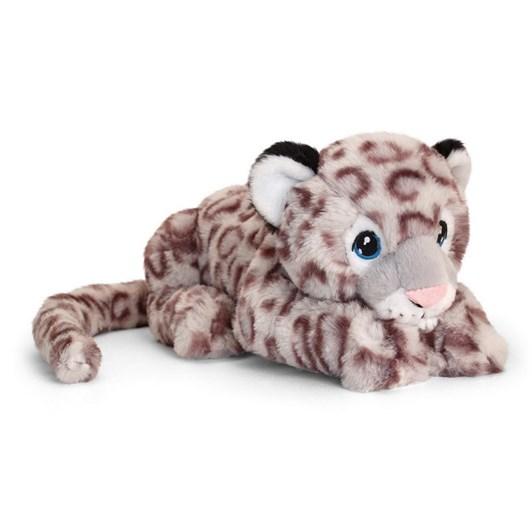 Antics Keeleco Snow Leopard Lying 25cm
