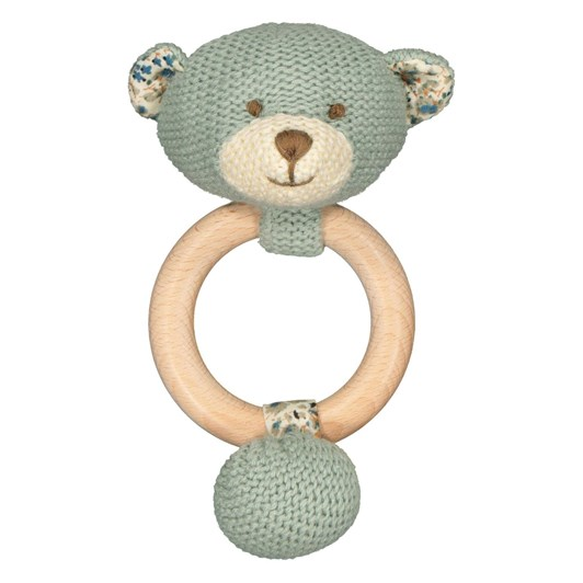 Lily & George Barney Bear Teether Ring