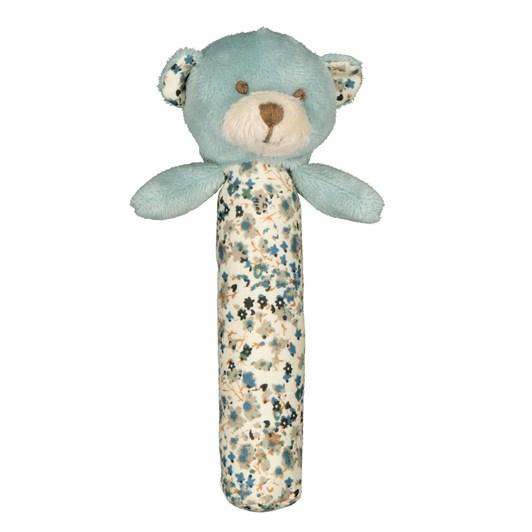 Lily & George Barney Bear Stick Rattle