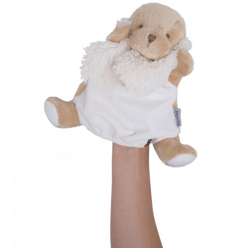 Kaloo Caramel Puppy Doudou Puppet 30cm na