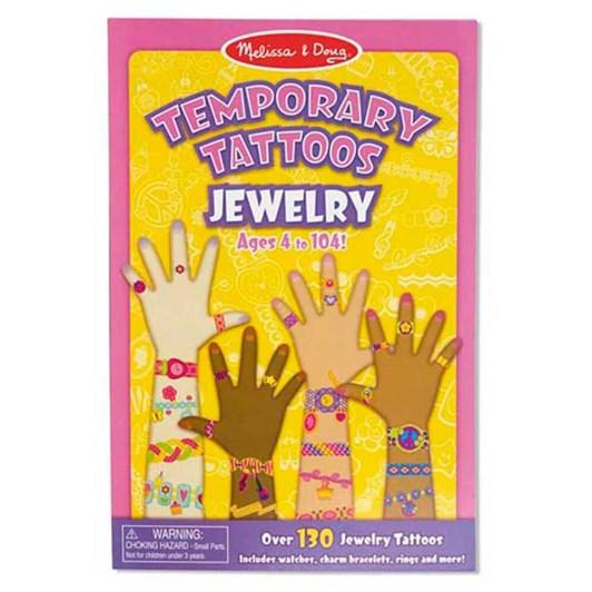 Melissa & Doug Temporary Tattoos Jewelry