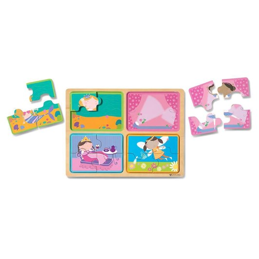 Melissa & Doug Little Princess Wooden Puzzle