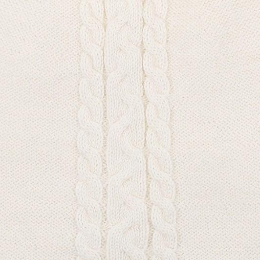 Bebe Frankie Cream Knitted Pompom Beanie