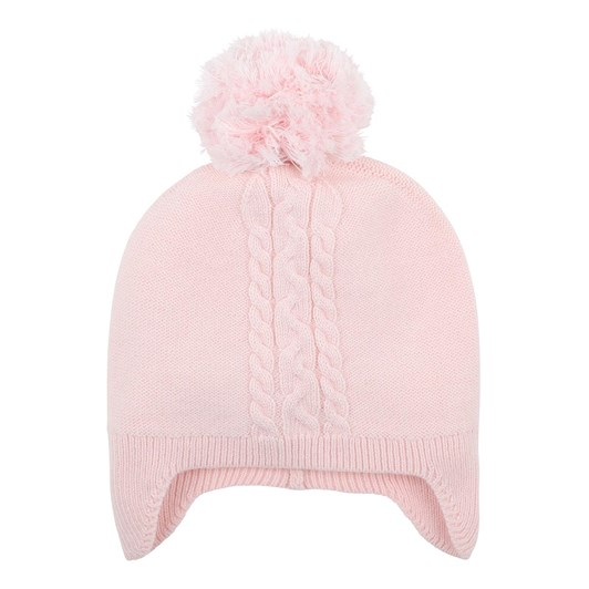 Bebe Tia Light Pink Beanie