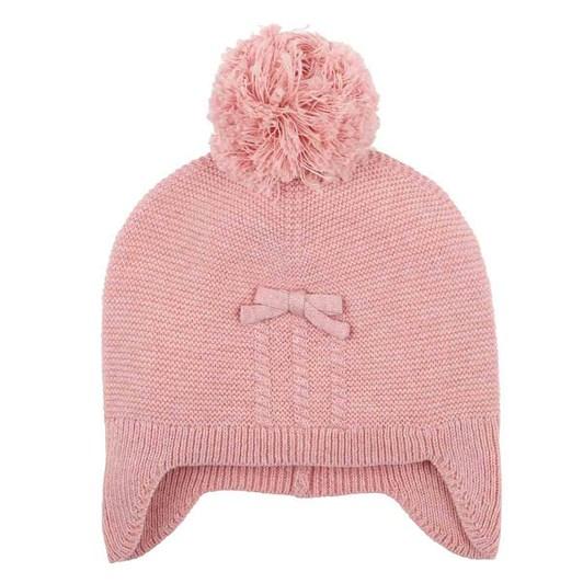 Bebe Tia Rose Pink Beanie