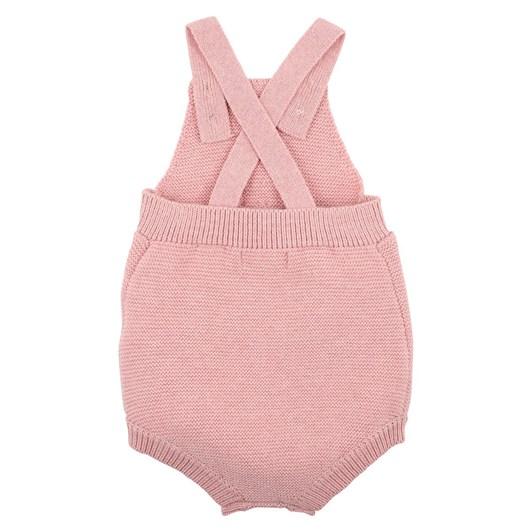 Bebe Tia Pink Knitted Bodysuit