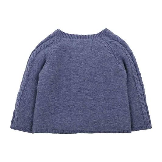 Bebe Finn Knitted Wrap Jumper