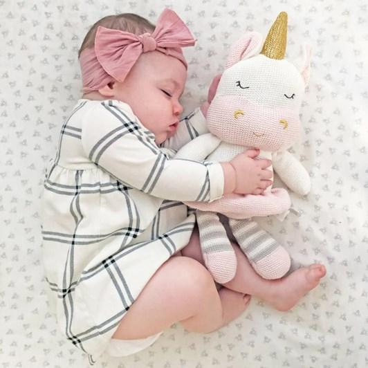 Living Textiles Kenzie The Unicorn Soft Toy