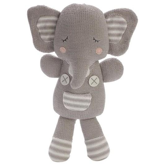 Living Textiles Eli The Elephant Soft Toy