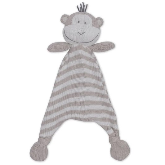 Living Textiles Max The Monkey Knit Security Blanket