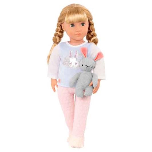 "Our Generation Doll 18"" Jovie & Pyjama & Bunny"