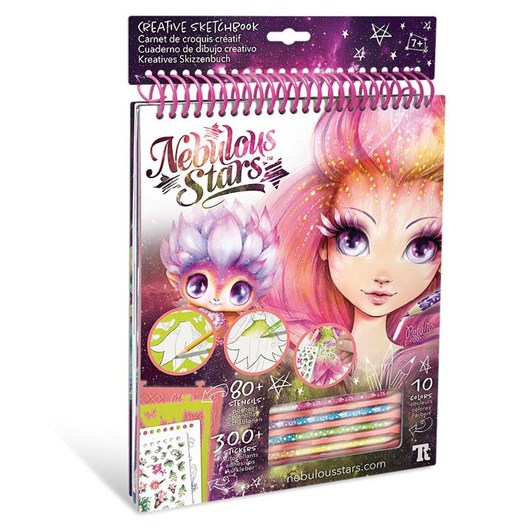Nebulous Stars Creative Sketchbook