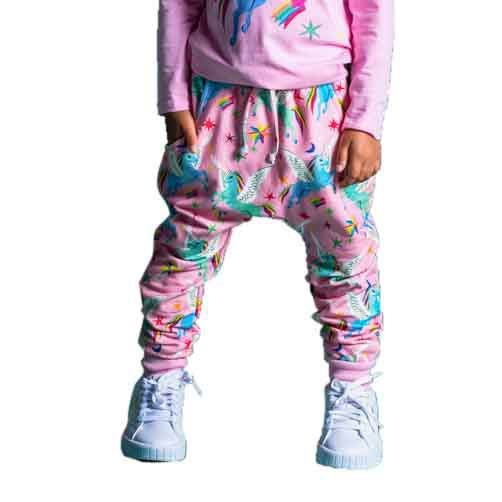 Rock Your Baby Rainbow Pegasus Track Pants
