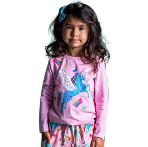 Rock Your Baby Rainbow Pegasus T-Shirt