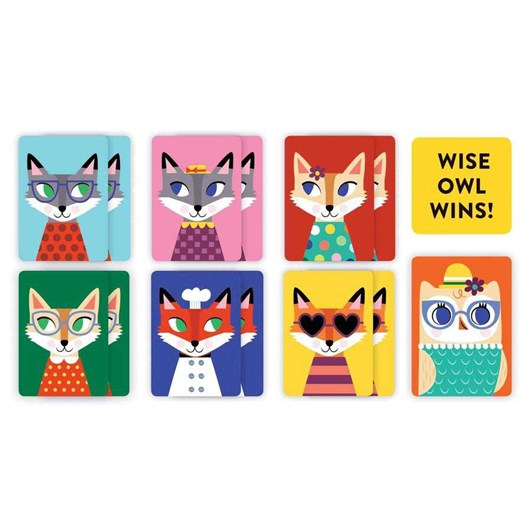 Mudpuppy Wise Owl Playing Cards To Go
